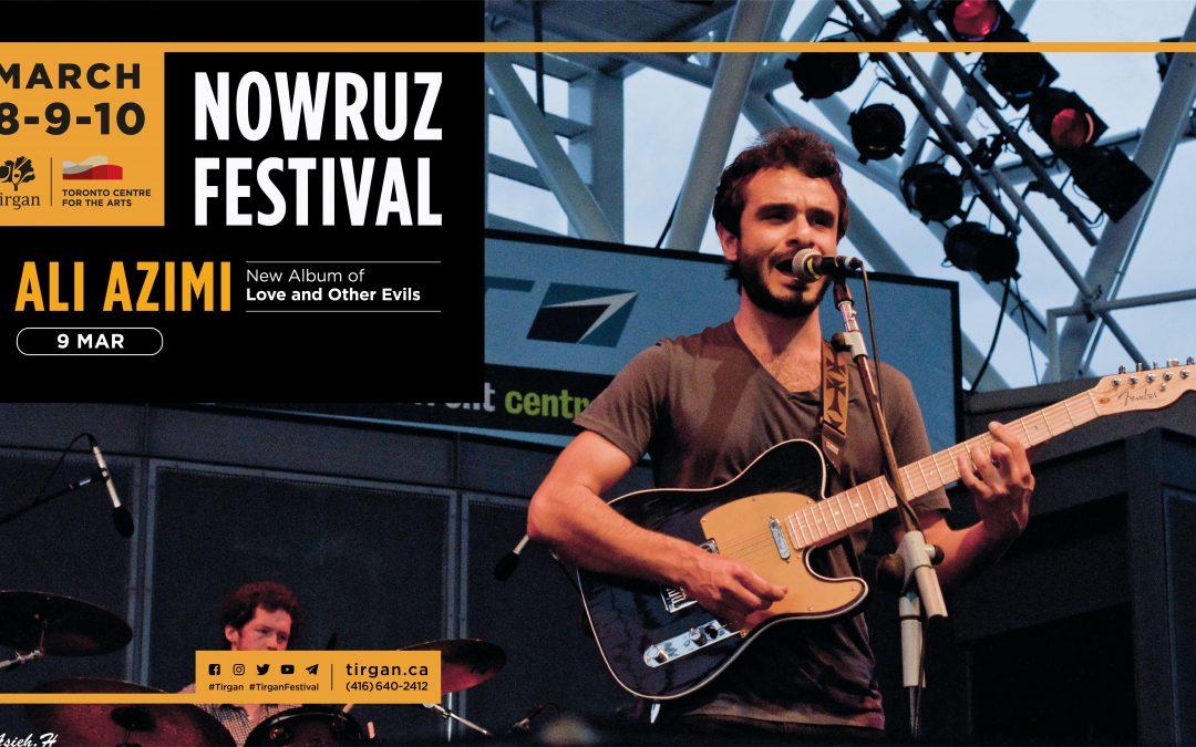 Ali Azimi Live in Concert: Tirgan Nowruz Festival 2019