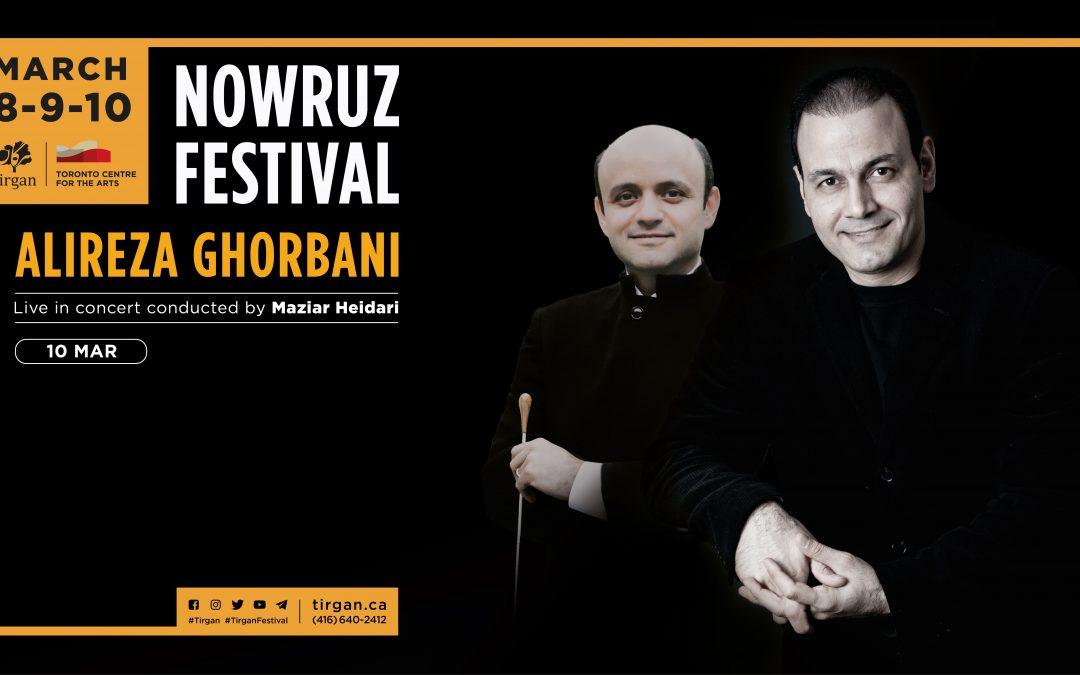 Alireza Ghorbani Live in Concert: Tirgan Nowruz Festival 2019