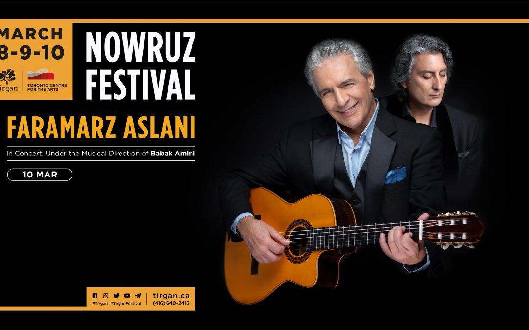 Faramarz Aslani Live in Concert: Tirgan Nowruz Festival 2019