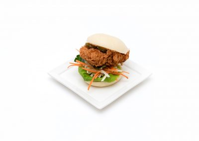 Fried Chicken Bao