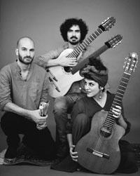 Golnar & Mahan Trio Concert Poster
